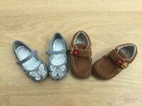 Girls shoes size 5 2 pairs M&S and TU