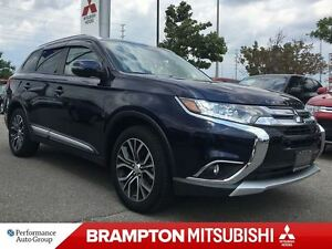 2016 Mitsubishi Outlander ES AWC PREMIUM (LEATHER INTERIOR! REVE