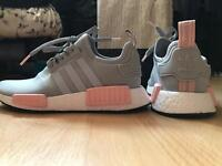 Grey and pink adidas nmd r1 limited edition