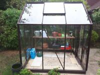 Greenhouse-free includes staging and heater