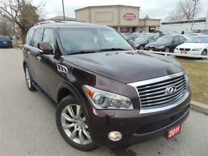 2011 Infiniti QX56 4WD LEATHERSUNROOF NAVI CAMERA