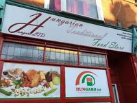 BUSINESS FOR SALE! EASTERN EUROPEAN HUNGARIAN-ROMANIAN FOOD AND DRINKS SHOP
