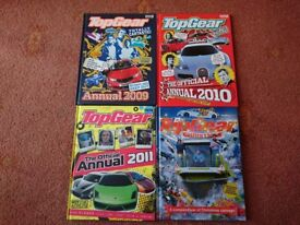4 Top Gear Books & DVD