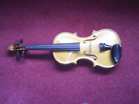 New Hand Crafted Violin #3 of a Limited Edition of 14