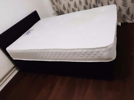Double king bed with MATTRESS and FRAME