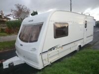 Lunar Delta 520/2 berth 2004 top of the range touring caravan