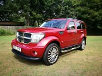 Dodge Nitro 2009 2.8 Turbo Diesel CRD SXT 4x4 Automatic Excellent Condition FSH
