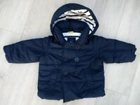 Winter coat 6-12 months (babyGap) - like new