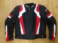 RST Blade Textile Motorcycle Jacket 3XL Red & Black