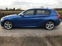 120d BMW 1 series m sport 2012