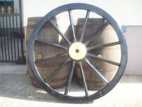 OLD CART WHEEL FOR ANY LOCATION