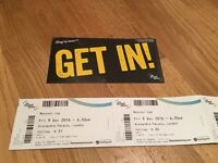 X2 Mosconi Cup Tickets