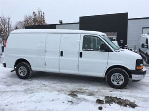 2017 GMC Savana 3500 6.0LV8 ext. fin or lease from 4.99%oac