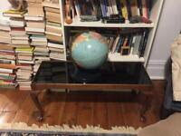 Glass original antique Stickley coffee table