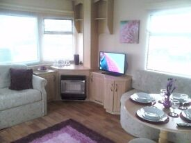 3 Bed 8 birth static caravan For Sale BY THE SEA