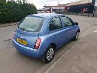 2005 05 NISSAN Micra 1.2 Automatic 5 door