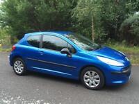 2006/56 Peugeot 207s 1.4 Years Mot