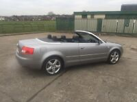 AUDI A4 SPORT CONVERTBLE LOW MILES not BMW VW Mercedes ford Vauxhall Nissan Peugeot SEAT SKODA cheap