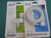BT Doubler & 5m Extension Cord