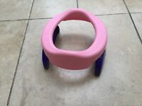 Potette plus 2-in1 travel potty and training seat with liners