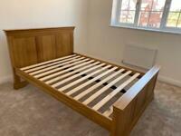 Hardwood Double Bed