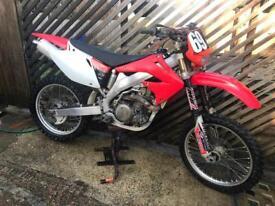 HONDA CRF 450 2002 ROAD REG