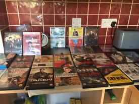 25 DVDs - selection of age 12, 15 & 18