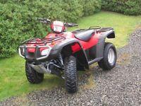Hond Foreman TRX500 QUAD BIKE