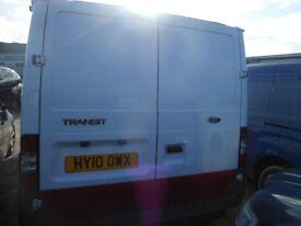 FORD Transit 85 T285 FWD Panel Van,2.23 Diesel, 1 Former Keeper, 125,000 miles, 2010-10 Plate