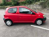 TOYOTA YARIS 1.0 2003 8 MONTHS MOT LOW INSURANCE DRIVES THE BEST