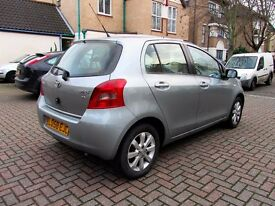 TOYOTA YARIS 1.3VVTI TR 5 DOOR HATCHBACK FSH HPI CLEAR EXCELLENT CONDITION