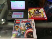 New Nintendo 3DS XL with 2 Games