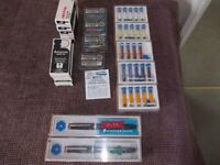 Selection of Staedtler mars pens ink and points very good condition