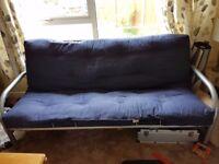 Blue sofa bed £40
