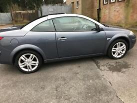 RENAULT MEGANE DYNAM S DCI 130 CONVERTIBLE 2007.LEATHER INTERIOR.EXELLENT CONDITION.PX/SWAPS