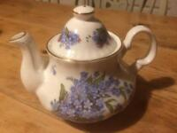 Crown Windsor bone china teapot
