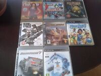 LAST CHANCE TO BUY ! Bundle of 8 PS3 Games