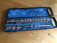 Yamaha Silver Plated Flute YFL22S
