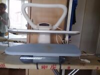 Domena ironing press very little used with dvd instructions good condition