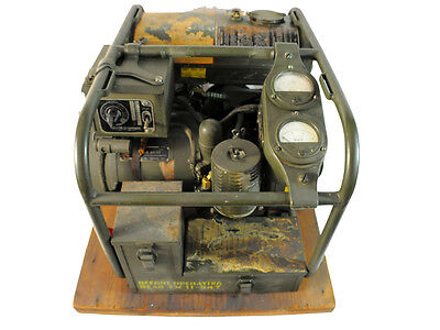 Vintage WWII Generator w/ Electric Start & Accessory Kit