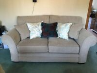 3 Piece Suite Plus Matching Storage Pouffe