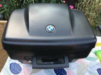 BMW GS motorbike topbox luggage