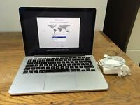 "Apple MacBook Pro Retina 13.3"" Early-2013 2.6GHz 8GB RAM 256GB SSD ME662B/A"
