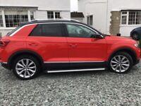 Strikingly good looking Volkswagen, T-ROC, Hatchback, 2019, Semi-Auto, 1498 (cc), 5 doors