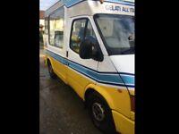 Whitby Morison ice cream van for sale £15000.