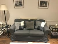 Dark grey sofa - great condition