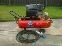 Fiac miami twin cylinder air compressor