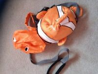 Little life toddler rucksack with detachable reign ( pink fairy or nemo)