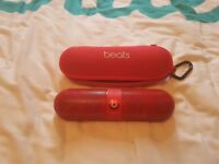 Beats Pill 2.0 wireless speaker system-red