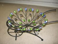 Decorative Wheelbarrow Garden Ornament